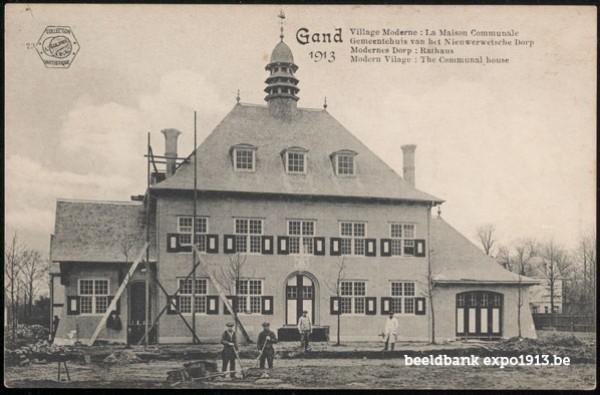 Gemeentehuis van het Nieuwerwetsche Dorp