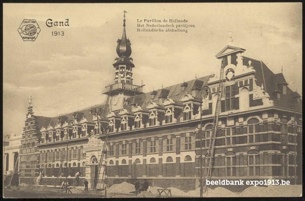 Het Nederlandsch paviljoen