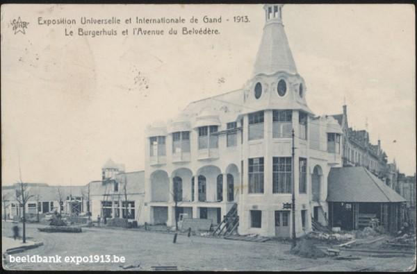 Le Burgerhuis et l'Avenue du Belvédère