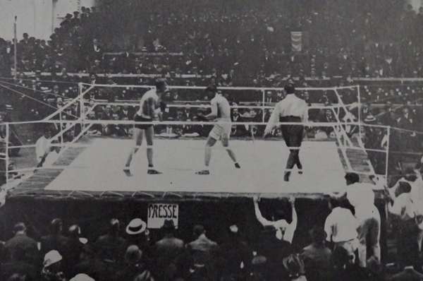 Georges Carpentier vs. Bombardier Billy Wells