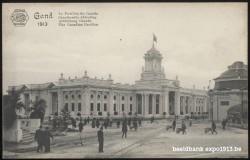 Expo 1913 in opbouw: Canadeesche Afdeeling