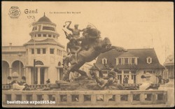 Expo 1913 in opbouw: Le Monument Ros Bayard