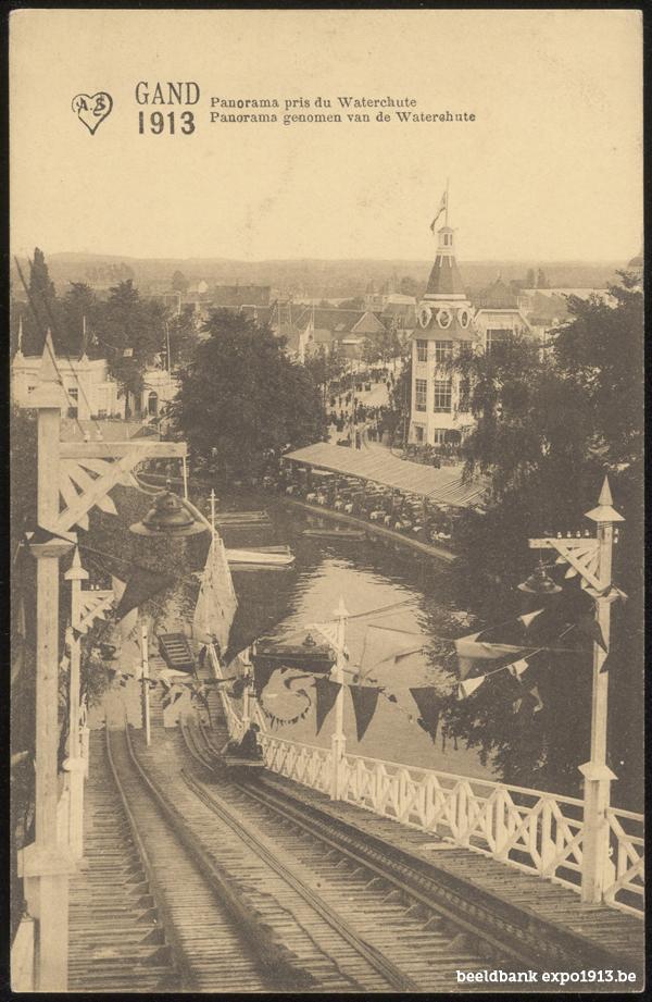 Panorama genomen van de Waterchute